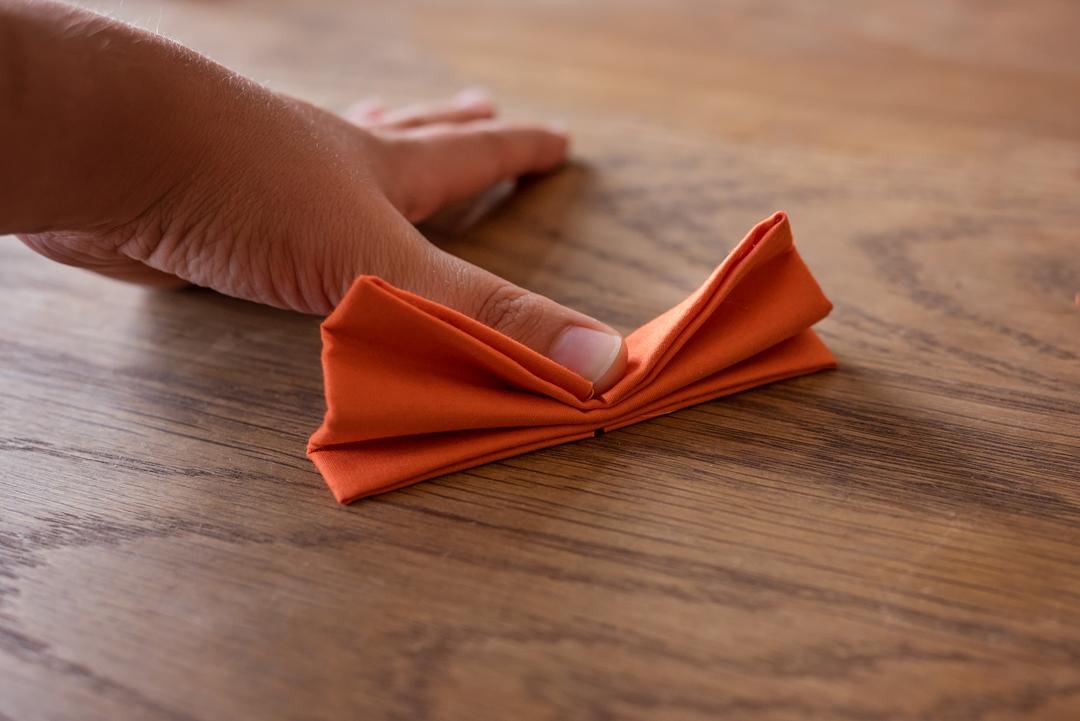 Folding the bow tie