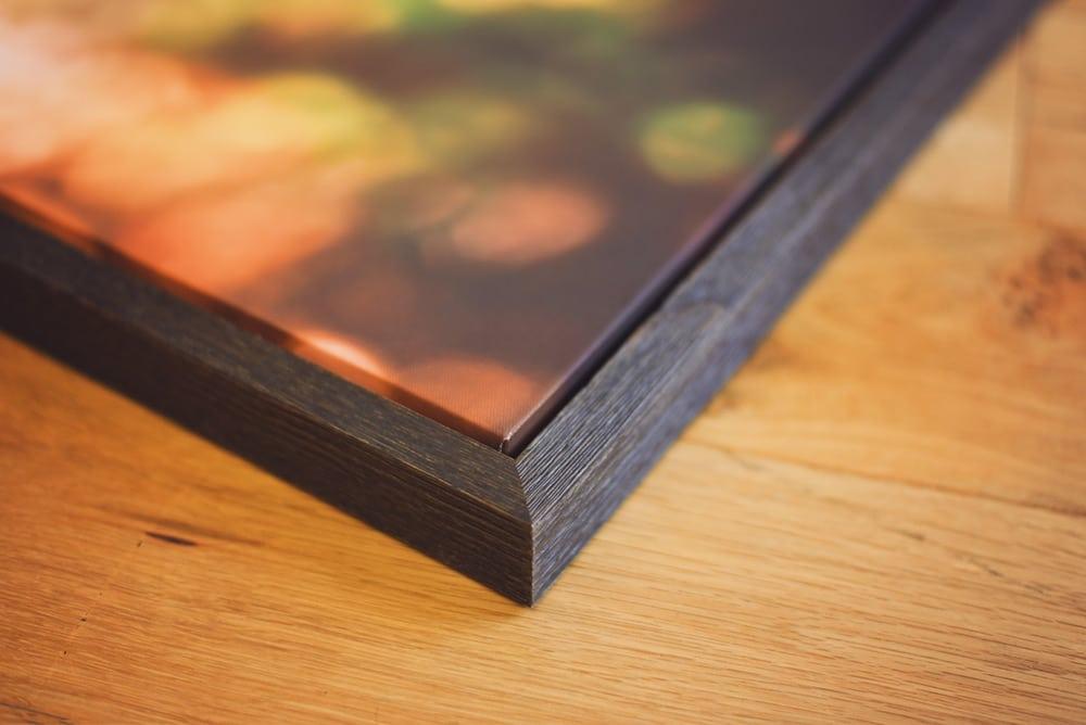 Framed-canvas-corner-detail