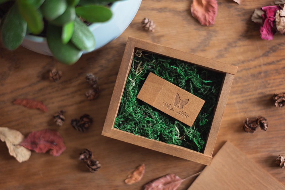 wooden-usb-box-filled-with-moss