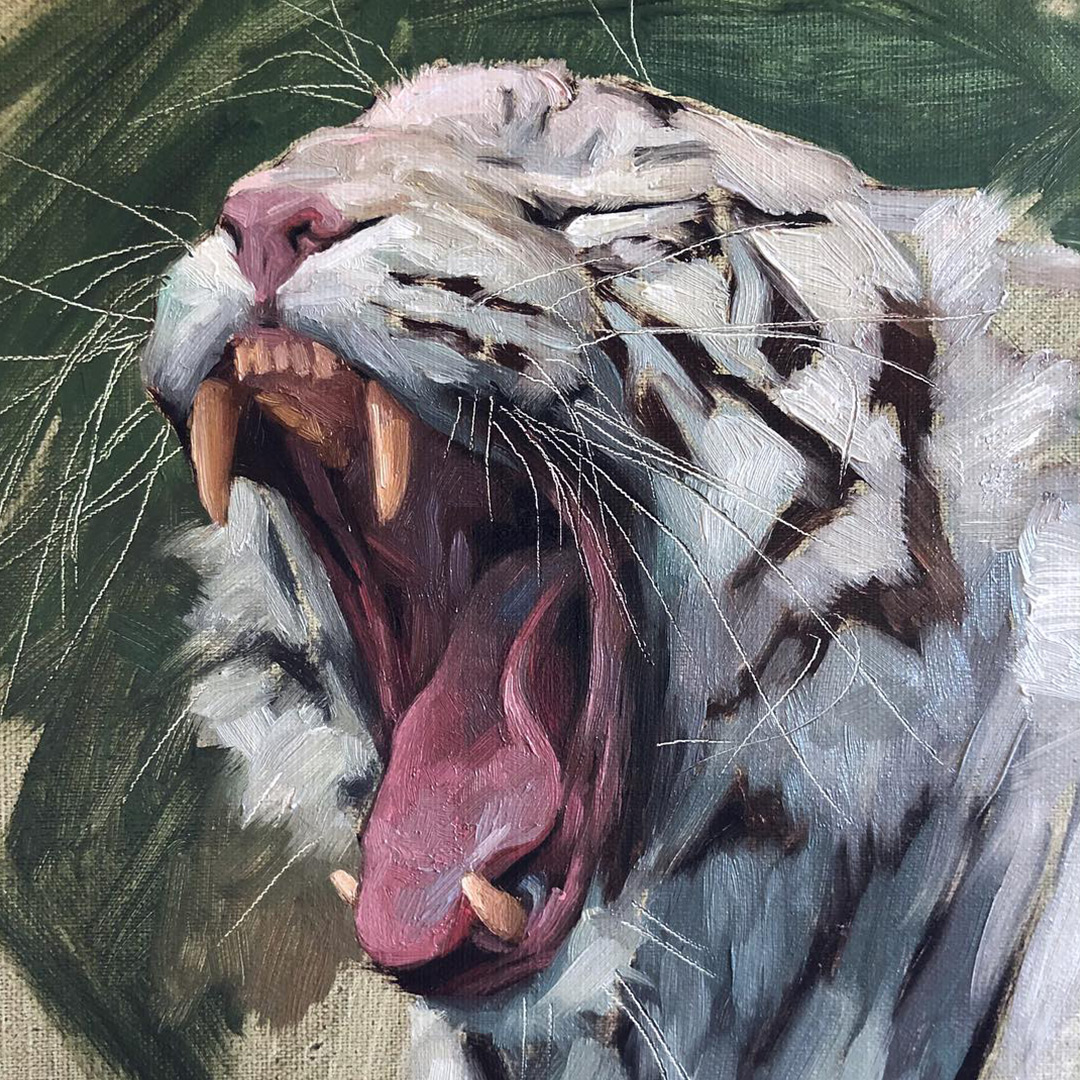 white-tiger-oil-painting
